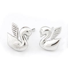 Wholesale Little Swan exquisite fashion earrings (similar to allergies),Fashion Earrings,E88546