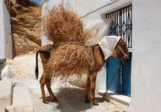 Head cover for protection from the sun...Naxos Island