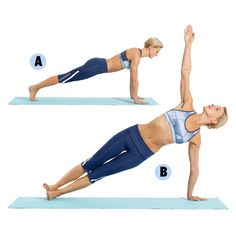 Strengthen your core with these key poses.