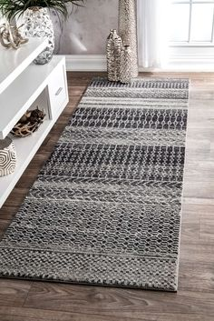 BosphorusBD65 Banded Abacus And Stripes Rug