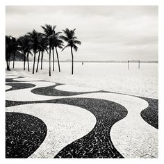 """Josef Hoflehner """"Copacabana Palms II - Rio de Janeiro, Brazil, 2010"""""""