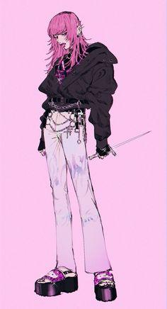 Pretty Art, Cute Art, Manga Art, Anime Art, Arte Grunge, Arte Punk, Personajes Monster High, Arte Indie, Wow Art