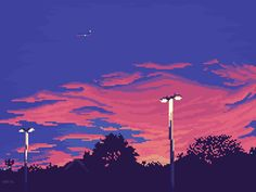 [OC]Nightfall : PixelArt