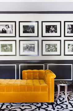 Looking for Black and White Living Room ideas? Browse Black and White Living Room images for decor, layout, furniture, and storage inspiration from HGTV. Kids Living Rooms, Living Room Photos, Rugs In Living Room, Living Room Designs, Silver Living Room, Black And White Living Room, Elegant Living Room, Black White, Adams Furniture
