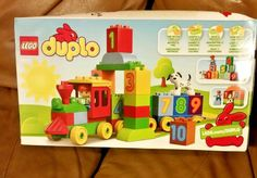 LEGO DUPLO My First Number Train Building Gift Toy Set 10558 Fun For Kids NEW #LEGO