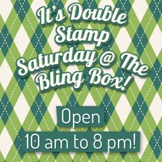 www.TheBlingBoxOnline.com - FREE SHIPPING For Online Orders! - Hey Facebook Fans, it's Double Stamp Saturday Online and in the Boutique! Have You Claimed your March 25% Off 1 Item Coupon Yet? The Store is Packed with many new items that have arrived in time for the weekend! Just in case you did not know... we offer Layaway and the following types of Coupons! 25% Off 1 Item Monthly Coupons, 20% Off 1 Item Birthday Coupons, 15% Off The Entire Store Full Loyalty Card Coupons and more!