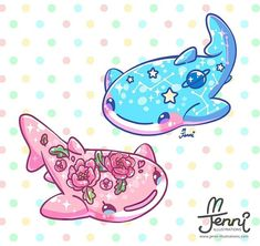Whale sharks are my fave sea animal 🙂💖🐳 . Cute Kawaii Drawings, Cute Animal Drawings, Kawaii Art, Cute Shark, Cute Whales, Whale Sharks, Kawaii Wallpaper, Cute Wallpaper Backgrounds, Wallpapers