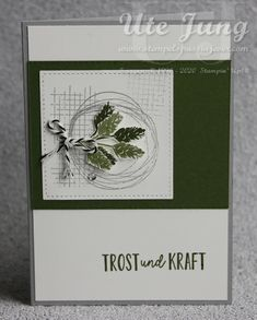 Stampin Up Karten, Stampinup, Cards, Catalog, Paper, Pretty Cards, Card Crafts, Creative, Loss Quotes