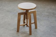 Special Offer  Solid Adjustable Stool by hedgehouse on Etsy, $235.00