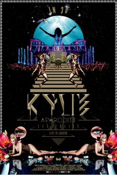 Happy 3-D Aphrodite Les Folies in UK and Ireland