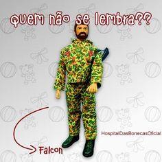 Quem não se lembra do Falcon? #brinquedos #brinquedosantigos #restauracaodebrinquedos #bonecas #bonecasantigas #restauracaodebonecas #consertodebrinquedos #toys #oldtoys