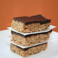 Chocolate Nut Energy Bars (Low Carb and Gluten Free) | All Day I Dream About Food