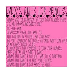 daddy kink on Tumblr ❤ liked on Polyvore featuring daddy, fillers, pictures, text, couple, quotes, phrase and saying