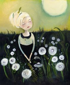 Anne-Julie Aubry - staring at the moon