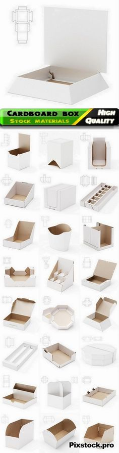 Design of cardboard box and package with drawing for cutting 2 - 25 HQ Jpg