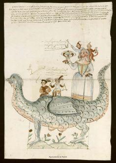 Tarasca para la procesión del Corpus de 1667