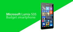 Microsoft Lumia 535 is one of the chapest smartphones from the Lumia models and it is obviously worth it.