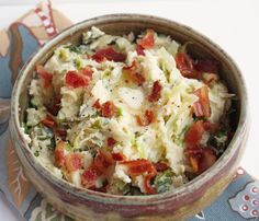 Bubble & Squeak (Low Carb and Gluten Free) - I Would add a can of corned beef. Can we say YUM!!