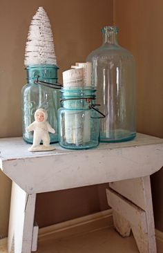 Itsy Bits and Pieces: More Winter Decorating Fun...Simple Projects...