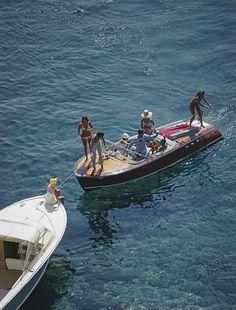 Porto Ercole , Italy August 1969 By Slim Aarons European Summer, Italian Summer, French Summer, Summer Aesthetic, Travel Aesthetic, Sky Aesthetic, Flower Aesthetic, Summer Feeling, Summer Vibes