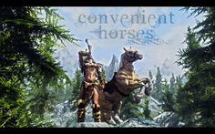 Convenient Horses mod by Alek @ nexusmods.