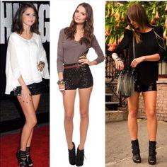 Lush Sequin Shorts Black Lush Dresses