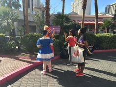 Clown sisters Morro and Jasp in Vegas www.morroandjasp.com Sister Love, Vegas, Sisters, Dresses, Fashion, Vestidos, Moda, Fashion Styles, Dress