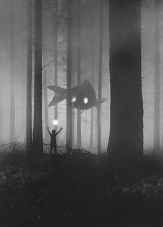 นี่คือสัตว์ยักษ์ในป่าที่ถูกลืม โลกในจินตนาการของศิลปินผู้เป็นโรคซึมเศร้า - เพชรมายา