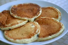 Buttermilk Pancakes | Cooks Illustrated - these are the best pancakes I've ever tasted! Fluffy, moist, and flavourful. This recipe adds chocolate chips but I prefer them without and topped with fresh strawberries and whipped cream. Yum!!!
