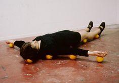 """Photo issue de la série """"One Minut Sculptures"""", dès 2007"""