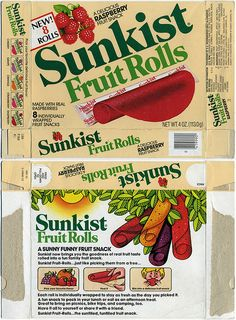 Sunkist fruit rolls