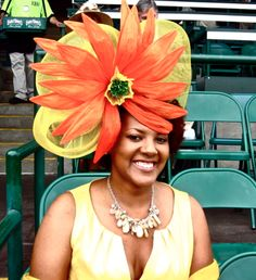 No. 4: Sunflower   2011 Kentucky Derby: Top 10 Hats at Churchill Downs   Bleacher Report