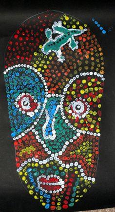 masque aborigène