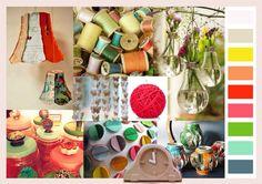 Studio Deksels - styling - trend - Fall 2012 - retro - 's Heeren Loo Color Stories, Mood, Table Decorations, Inspired, Studio, Retro, Fall, Inspiration, Home Decor