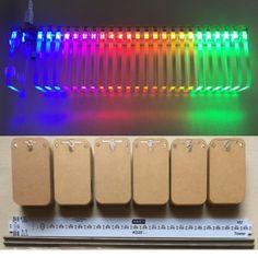 KS25 Sound Control LED Music Spectrum Dream Crystal Column Light Cube Electronic DIY VU Tower Kit