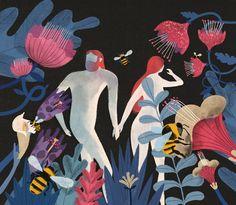 The evolution of sex for The Chronicle of Higher Education. Art Director: Ellen Winkler.