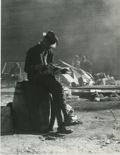 Dorothea Lange:  so grateful if he could get any work