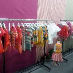 nyanis Messestand auf der Children's Fashion Cologne 2013.