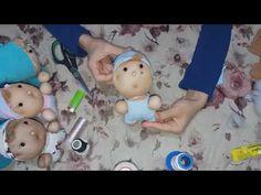 Ten Çorap Bebek Yapımı - YouTube