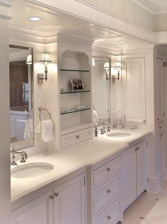 Mirror Lighting: Classic Informal