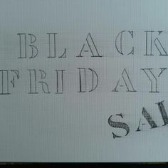 Yeah black friday sale just started!! Just browse throught my shop to find some awesome deals!