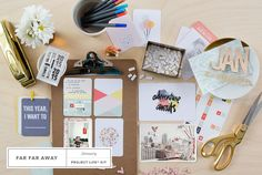 Sneak Peek at @studio_calico 's January Project Life Kit, Far Far Away!