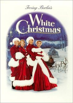 White Christmas (1954) ~ Bing Crosby, Danny Kaye, Rosemary Clooney. A successful song-and-dance team become romantically involved with a sister act and team up to save the failing Vermont inn of their former commanding general. I try to watch this every Christmas ♥