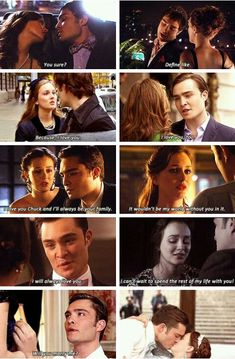 The evolution of chuck and blairs relationship