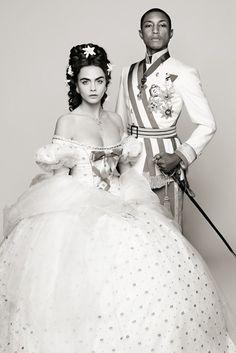Cara Delevigne & Pharrell - Fashion Film #Chanel