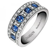 Zaffiri, diamanti, oro. Stile belle epoque, Damiani