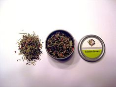 Midsummer Moonshine Loose Leaf Tea! Hibiscus, Lemongrass and Peppermint, oh my!