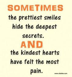 Pain Quotes | nice quotes-smile-secrets-hearts-pain-quotes