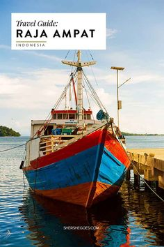 A travel guide to Raja Ampat covering things to do, scuba diving and logistics