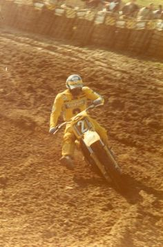 Jean Jacques Bruno - gaillefontaine (Mx french track) - motocross - french rider